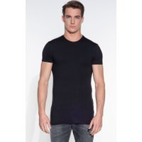 Slater Stretch Heren T-shirt KM 2-pack