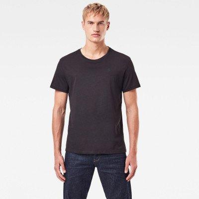 G-Star RAW Basic Heather T-Shirt 2-Pack - Zwart - Heren