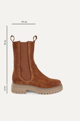 Shoecolate Shoecolate Chelsea boot Cognac 8.20.08.850