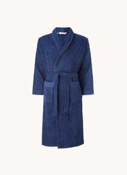 de Bijenkorf Home de Bijenkorf Home Organic Softness badjas van biologisch katoen - unisex