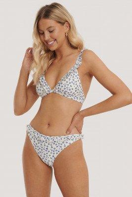 NA-KD Swimwear NA-KD Swimwear Bikinislip Met Rucherand - Multicolor