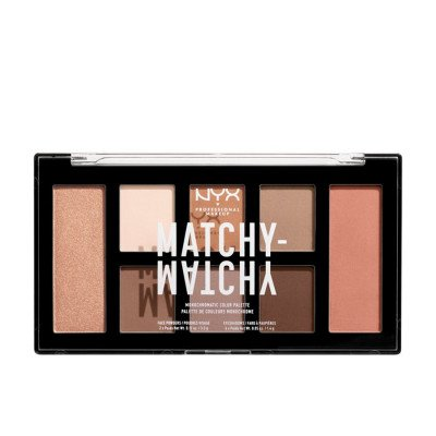 NYX Professional Makeup Taupe Matchy Monochromatic Oogschaduw 1 st