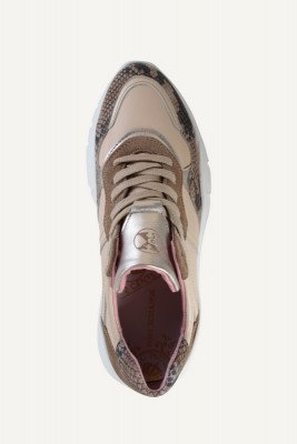 Post xchange Post Xchange Sneaker Beige Seven 01