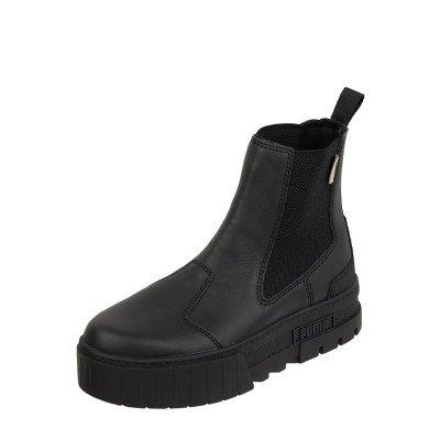 Puma Chelsea-boots van leer