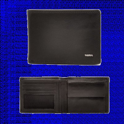 Berba Berba Heren Portemonnee Soft 002-200 Black