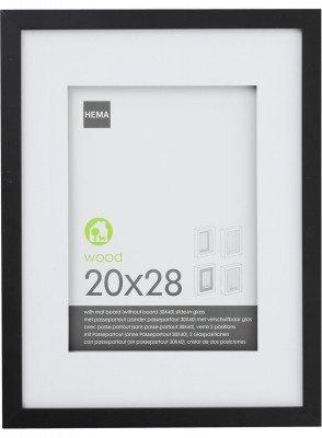 HEMA Fotolijst 20 X 28 Cm (zwart)