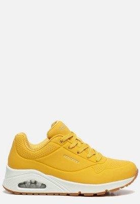 Skechers Skechers Uno Stand On Air sneakers geel