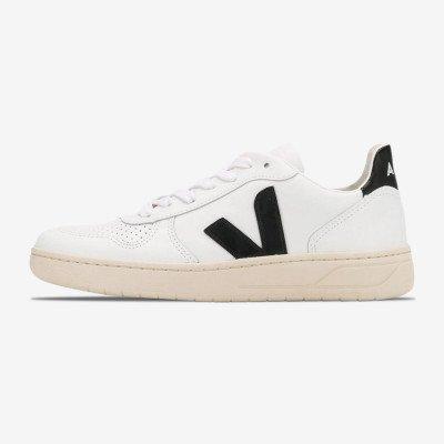 """Veja V-10 Leather """"White"""""""