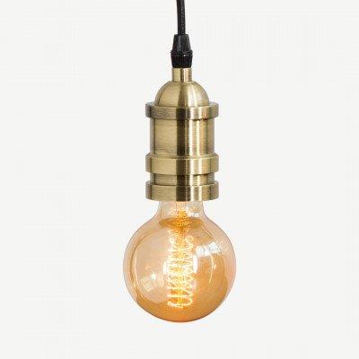 Starkey hanglamp, messing