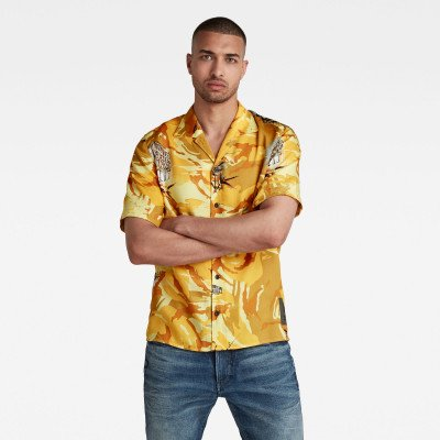 G-Star RAW Hawaiian Service Regular Shirt - Meerkleurig - Heren