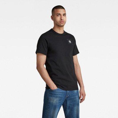 G-Star RAW Badge Logo T-Shirt - Zwart - Heren