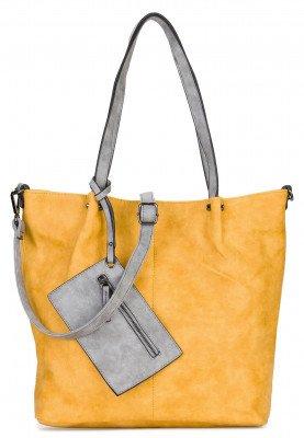 Emily en Noah Emily en Noah Bag in Bag Surprise Cityshopper Geel-Grijs