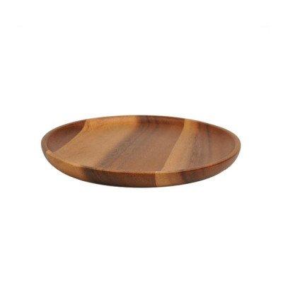 DilleenKamille Houten bord, acacia,Ø 20 cm