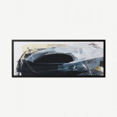 MADE.COM Dan Hobday, 'Night Sky', ingelijste print, 40 x 100 cm