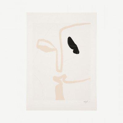 MADE.COM The Poster Club, Kiss, print door Anna Johansson, 50 x 70 cm