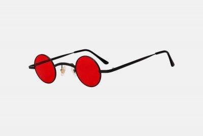 Blank-Sunglasses NL JOY. - Black with red