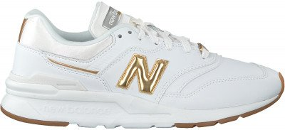 New Balance Witte New Balance Lage Sneakers Cw997