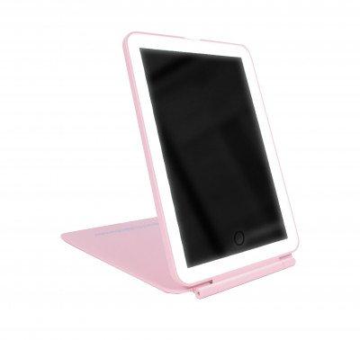 KimChi Chic Beauty KimChi Chic Beauty Freestanding Folding Mirror Pink