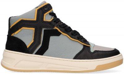 Bronx Blauwe Bronx Hoge Sneaker Old Cosmo