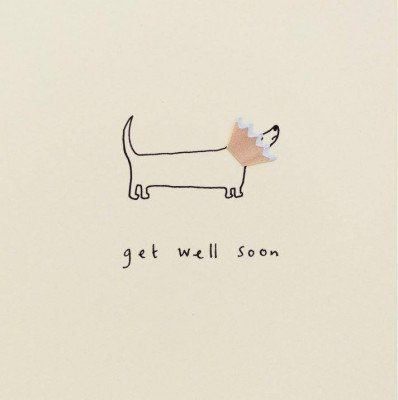 Growing Concepts Wenskaart - Get well soon