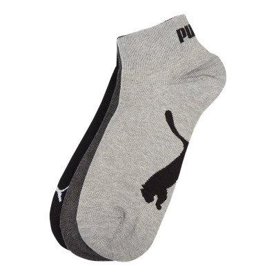 Puma Sneakersokken met stretch in een set van 3 paar