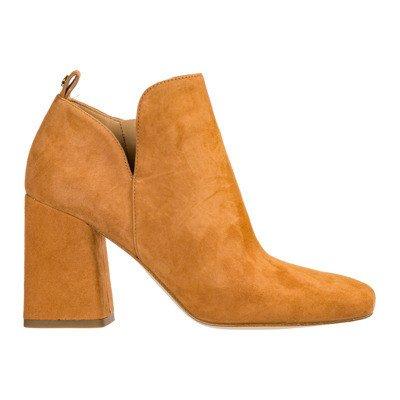 Michael Kors women's suede heel ankle boots booties