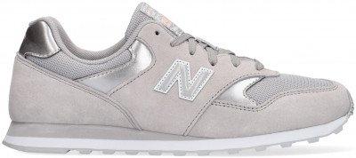 New Balance Grijze New Balance Lage Sneakers Wl393