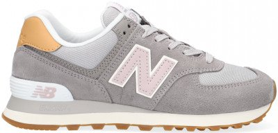 New Balance Grijze New Balance Lage Sneakers Wl574