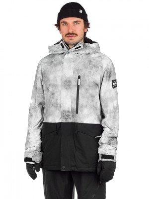 Quiksilver Quiksilver Mission Printed Block Jacket grijs