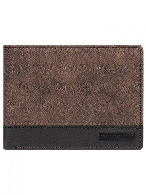 Quiksilver Quiksilver Mini Wallet bruin