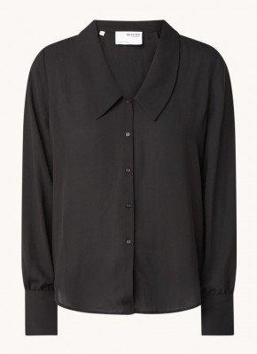 Selected Femme Selected Femme Doris blouse met V-hals