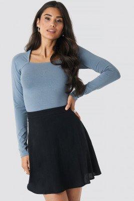 NA-KD NA-KD Flowing Skirt - Black