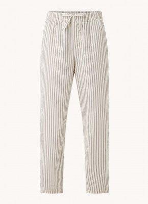 TEKLA TEKLA Pyjamabroek met streepprint