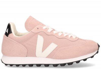 VEJA VEJA Rio Branco Ripstop Roze Damessneakers