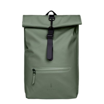 Rains Rains Roll Top Backpack Olive