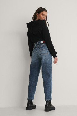 Tommy Jeans Tommy Jeans Mom Jeans Met Hoge Taille - Blue