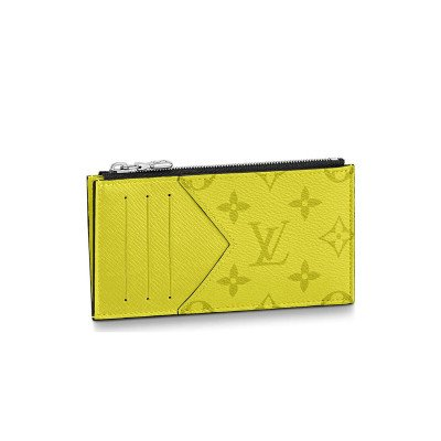 Louis Vuitton Louis Vuitton Coin Card Holder Wallet Monogram Bahia Yellow