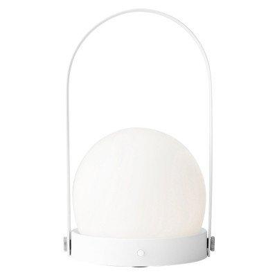 Menu Carrie LED sfeerlamp, oplaadbaar, wit