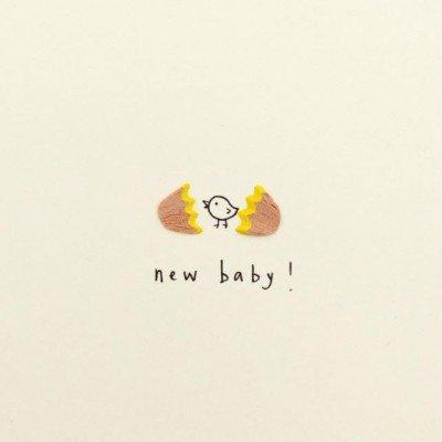 Growing Concepts Wenskaart - New Baby