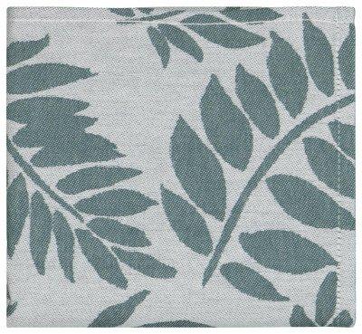 HEMA HEMA Theedoek 65x65 Katoen Bladeren Groen