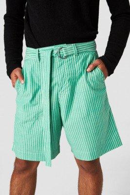 Kings of indigo Kings of Indigo - MIGUEL shorts Male - Green