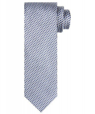 Profuomo Profuomo heren lichtblauwe zijden stropdas