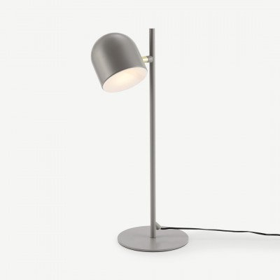 MADE.COM Owen LED tafellamp, matgrijs