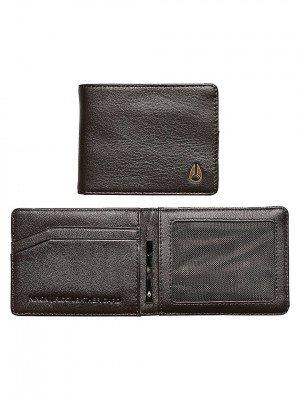 Nixon Nixon Rico Slim Card Wallet bruin