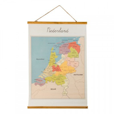 Xenos Vintage poster Nederland - 50 x 70 cm