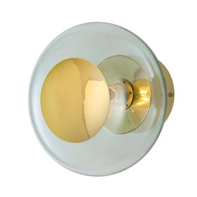 Ebb en Flow EBB & FLOW Horizon fitting goud/groen Ø 21 cm