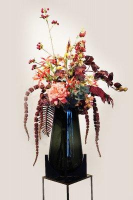 Firawonen.nl Kunstboeket Mysterious Orchid incl. vaas