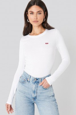 Levis Levi's T-Shirt Met Logo - White