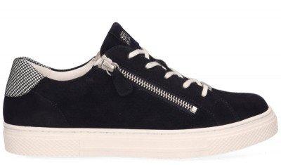 Hassia Hassia Bilbao Donkerblauw/Wit Damessneakers