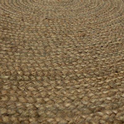 WOOOD WOOOD Rond Vloerkleed 'Ross' 150cm, kleur Army